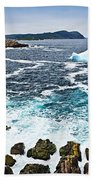 Melting Iceberg In Newfoundland Bath Towel