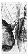 Men Drinking, 1872 Bath Towel