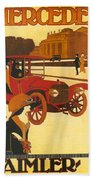 Mercedes Daimler Bath Towel