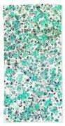 Mermaid Dreams Abstract Bath Towel