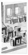 Metalworker, 18th Century Bath Towel