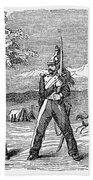 Mexican American War, 1846 Bath Towel