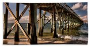 Mexico Beach Pier Bath Towel