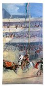 Mexico: Bullfight, 1833 Bath Towel