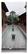 Mission Inn Roof Top Pond Bath Towel