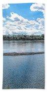 Mississippi River Panorama Bath Towel