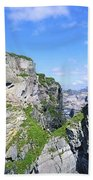 Mizen Head, Ivagha Peninsula, Co Cork Bath Towel