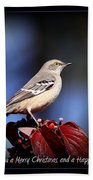 Mockingbird Holidays Bath Towel