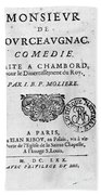 Moliere (1622-1773) Bath Towel