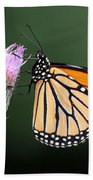 Monarch Butterfly Bath Towel
