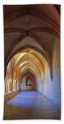 Monastery Passageway Bath Towel