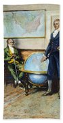 Monroe Doctrine, 1823 Bath Towel