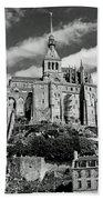 Mont St. Michel Bath Towel