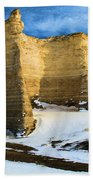 Monument Rocks Castle Bath Towel