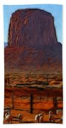 Monument Valley 2 Pastel Hand Towel