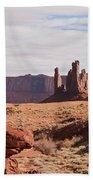 Monument Valley Totem Pole Bath Towel