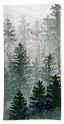 Morning In The Mountains Bath Towel