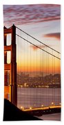 Morning Over San Francisco Bath Towel
