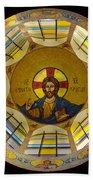 Mosaic Christ Bath Towel