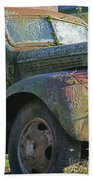 Moss Covered Truck Bath Towel