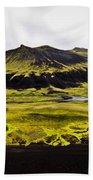 Moss In Iceland Bath Towel