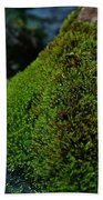 Mossy River Rock Bath Towel