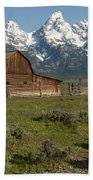 Moulton Barn - Grand Tetons Bath Towel