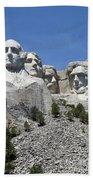 Mount Rushmore Vertical Bath Towel