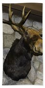 Mounted Moose Bath Towel