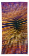 Moving Abstract Lights Bath Towel