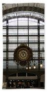 Musee D'orsay's Clock Bath Towel