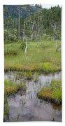 Muskeg Bog With Ponds, Mitkof Island Bath Towel