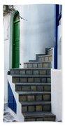 Mykonos Stairs Bath Towel