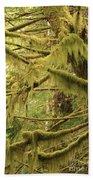 Mysterious Moss Bath Towel