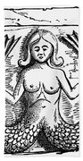 Mythology: Mermaid Bath Towel