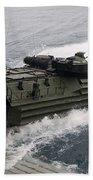 N Amphibious Assault Vehicle Departs Bath Towel