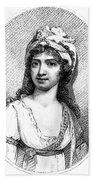 Nancy Storace (1765-1817) Bath Towel