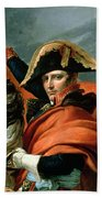 Napoleon Crossing The Alps On 20th May 1800 Hand Towel