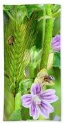 Natural Bouquet Bath Towel