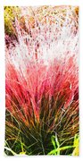 Nature's Fireworks  Bath Towel