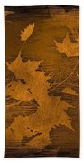 Natures Gold Leaf Bath Towel