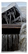 Natures Ice Sculptures 5 Bath Towel
