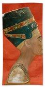 Nefertiti, Ancient Egyptian Queen Bath Towel