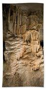 Nerja Caves In Spain Hand Towel