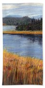 Nestucca River And Bay  Bath Towel