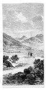 Nevada: Washoe Region, 1862 Bath Towel