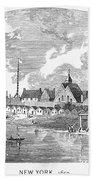 New Amsterdam, 1650 Bath Towel