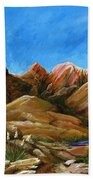New Mexico Highlands In Spring Bath Towel