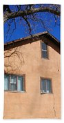 New Mexico Series - Adobe Building Bath Towel