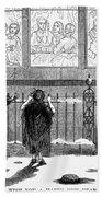 New Years Eve, 1859 Bath Towel